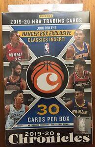 2019-20-Panini-Chronicles-Basketball-Hanger-Box-Factory-Sealed-Zion-Ja-Herro
