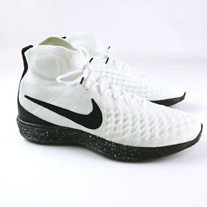 huge discount ddfcb 46402 Image is loading Nike-Lunar-Magista-876385-100-Polyester-Yarn-Flyknit-