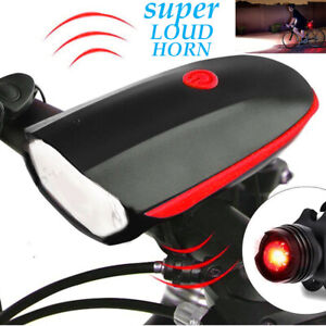 Bicycle-Headlight-USB-Rechargeable-LED-Bike-Head-Light-Front-Lamp-Cycling-Horn