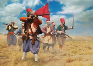 Strelets 1/72 Bashi-bazouks (guerre Russo-turque 1877) #m054