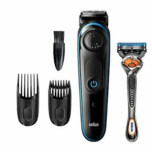 BT3240 braun Cordless&Rechargeable Hair Clipper with Gillette ProGlide Razor NEW