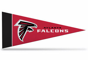 "New NFL Atlanta Falcons Mini Pennant  9""x4"" (22 x 9 1/2 cm) Made in USA Banner"