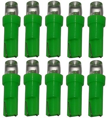 AERZETIX 10 x Bombillas T5 24V LED SMD verde para salpicadero de camion semirremolque