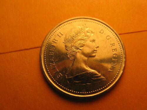 1973 Canada 25 Cents Coin 100th Anniversary Of RCMP Commemorative BU Coin.
