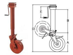 Simol-Stuetzrad-2000-kg-halbautomatische-Klappung-mit-Feder