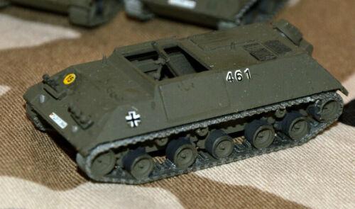 Roco top Zustand! schön gebrusht Decals Mörserpanzer HS 30 BW in oliv