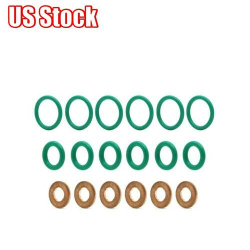 Injector Seal Copper O-ring Gasket Kit For Dodge Cummins Diesel 5.9//6.7L 2003-07