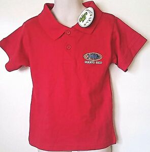 * Puerto Rico * Embroidered Polo Shirt 100% Cotton - KIDS 3T