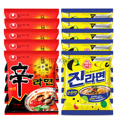 Nongshim] Shin Ramyun Spicy Beef Jin