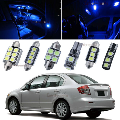 Car Error Free Blue Led Interior Bulb Package 10X Kit For  BMW 1 series E87 Y1