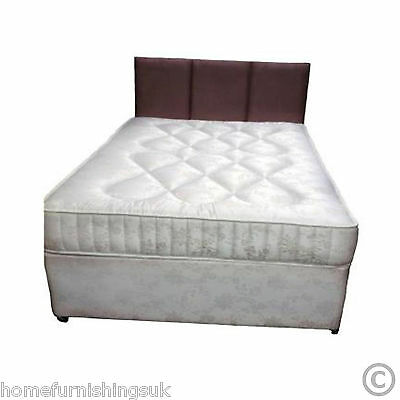 """Hf4you Ortho Damask Divan Bed, Firm, Free Delivery, 2ft 6"""" Small Single"""