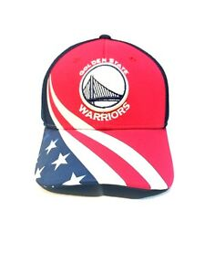 96ab16c43ac17 Image is loading Adidas-Patriotic-NBA-Golden-State-Warrior-Hat-Adjustable-
