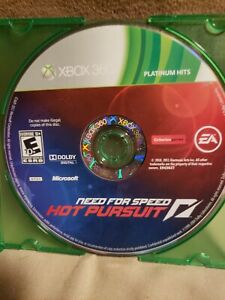Xbox 360 Need for Speed: Hot Pursuit DISC ONLY TESTED CLEANED AND WORKING