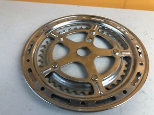 1 Vintage Old School Metal Chain Ring Protector For 1 Piece Cranks