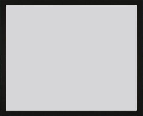 Bilderrahmen Victoria Aluminium 46 x 61 cm schwarz weiß Foto Poster