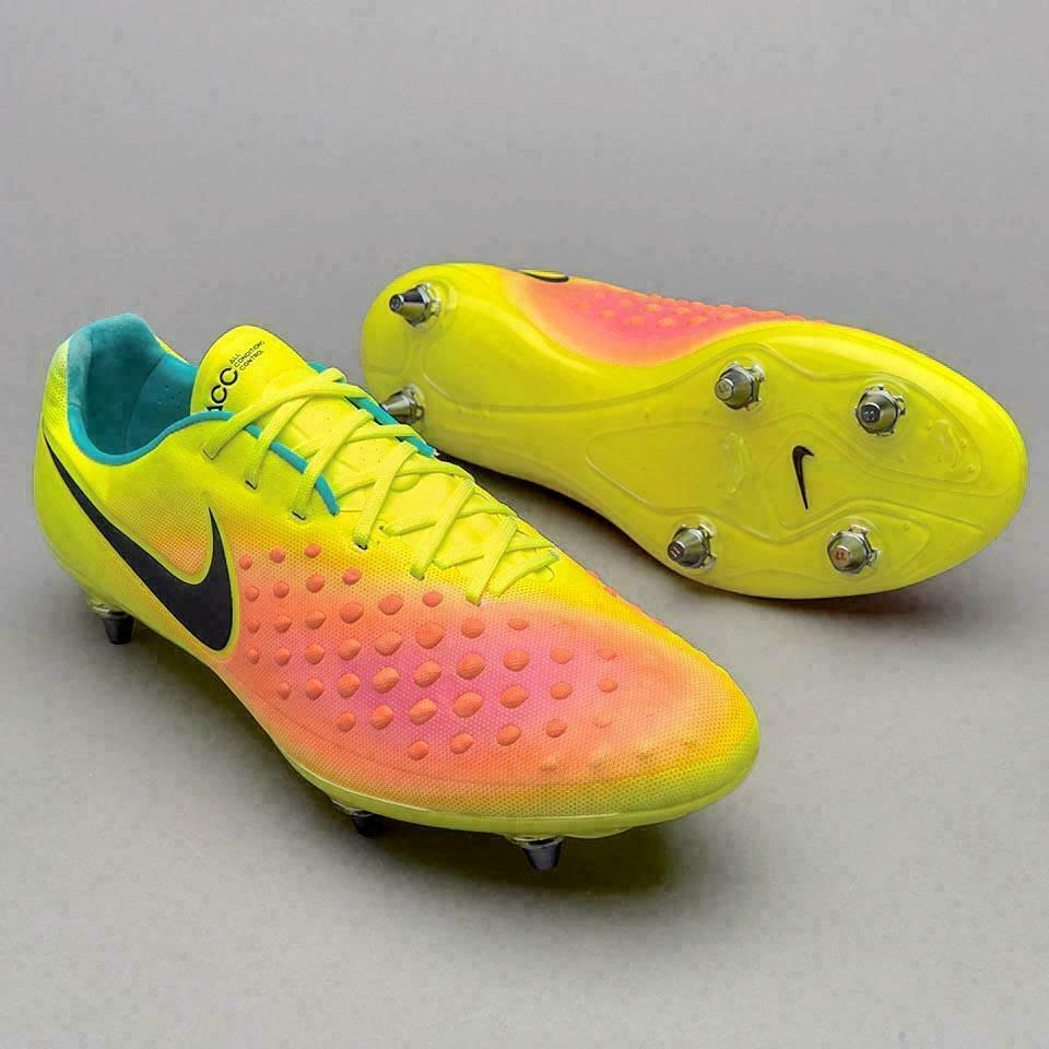 $230 NIKE MAGISTA OPUS II SG SOCCER CLEATS 852699 709 VOLTTOTAL ORANGE size 12