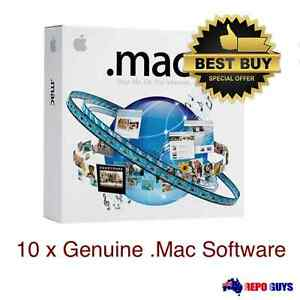 10-x-Mac-5-0-Family-Pack-Apple-Computer-Software-Brand-NEW-Sealed
