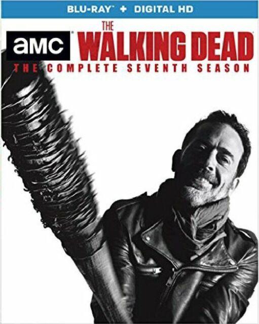 The Walking Dead Season 7 Blu Ray Disc 2017 5 Disc Set Includes Digital Copy Ultraviolet For Sale Online Ebay