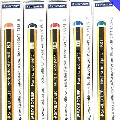 Staedtler Noris School Pencils 121 In Grades HB//B//2B//H//2H Boxed