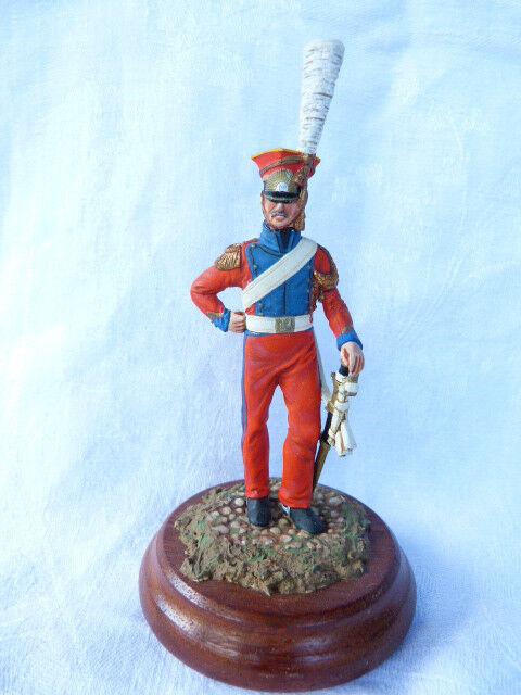 Soldat de plomb 90mm - 2 è mich rgt des chevau-l é gers lanciers de la garde 1810-15