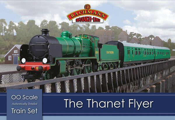 Bachmann 30-165 The Thanet Flyer Southern Railway Train Set OO/HO DCC Ready