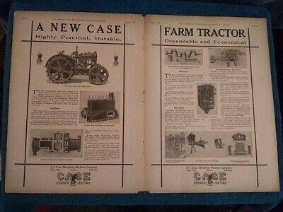 Wisconsin Racine 1917 Case 10-20 Kerosene Tractor New Metal Sign