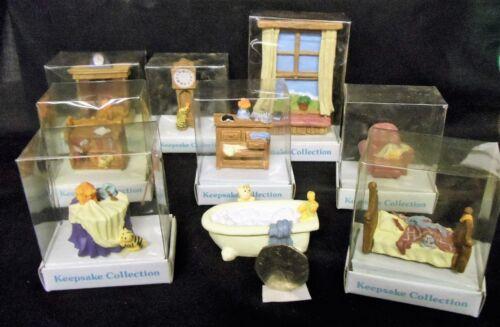 CASA delle Bambole Stile raccordi con i gatti-RESINA-bomboniera Collection