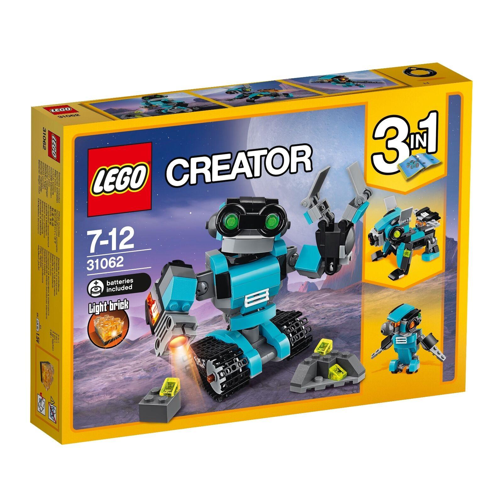 LEGO® Creator 31062 Forschungsroboter NEU OVP_ Robo Explorer NEW MISB NRFB
