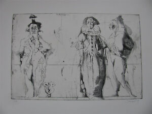 KURT STEINEL ,1929 FREIBURG im BREISGAU  - 2005 OFFENBACH . RADIERUNG E.A. 1979