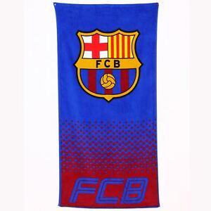 FC-Barcelona-Plage-amp-Serviette-de-Bain-Neuf-Officiel