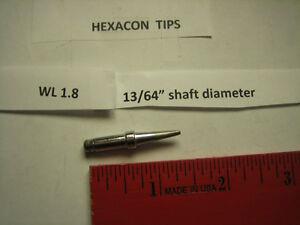 Weller  Lead-Free Soldering Tip  1//8 in Dia Copper