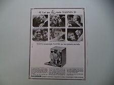 advertising Pubblicità 1967 LAVASTOVIGLIE NAONIS