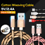 Micro-USB-Cable-3M-2M-Fast-Charging-Charger-Long-Cord-For-Android-Samsung-Galaxy thumbnail 1