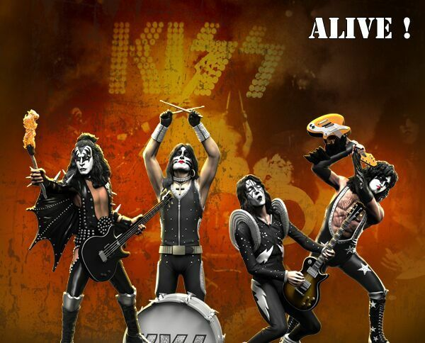 Kiss  Alive  – Set Of Of Of 4 (Lim. 3000) Rock Iconz 1 9 Statue Knucklebonz  punto de venta