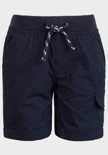 Minoti Boys Cotton Turn-up Cuff  Poplin Summer Shorts 9 10 11 13