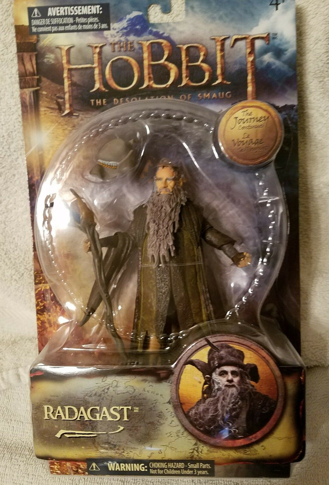 Collectible The Hobbit RADAGAST--THE Desolation of Smaug Action Figure