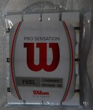 NEW Wilson Pro Sensation Overgrip 12-Pack Tennis Waterproof Storage Bag White