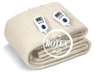Scaldaletto elettrico matrimoniale johnson relax scaldino scaldasonno rotex ebay - Scaldino elettrico per letto ...