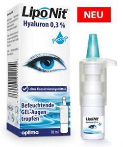 Lipo Nit Augentropfen GEL 0,3% 10 ml pump