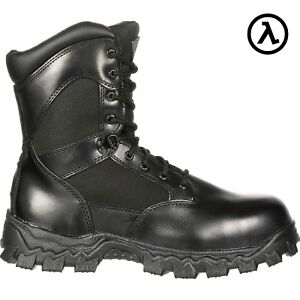 ROCKY ALPHA FORCE WATERPROOF 400G INSULATED DUTY BOOTS RKYD011   ALL ... 9d46e6c1aed7