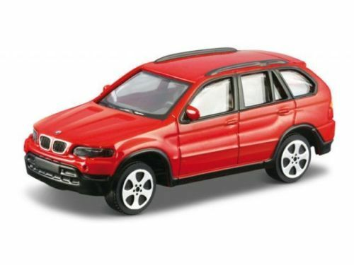 BMW X5 1:43 Diecast Metal Model Car Die Cast Models Cars Red Black Silver Bronze