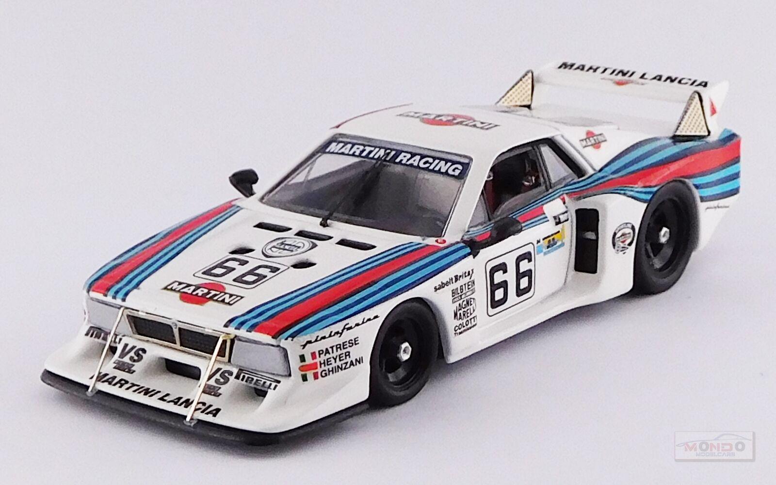 de moda LANCIA Beta MonteCochelo Turbo Martini    66 Le Mans 1981 Patrese BEST 1 43 BE9658  en venta en línea