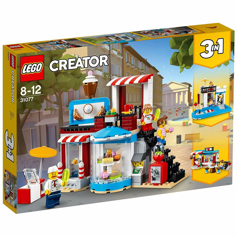 LEGO 31077 Creator Creator Creator 3-IN-1 Model Sweet Surprises Pool House And Food Corner Cafe 4886fe