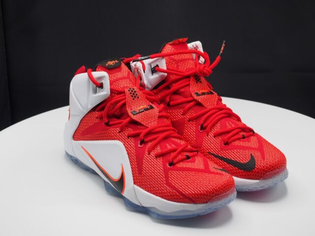 aed178da69a Nike Lebron XII 12 Heart of a Lion Mens 684593-601 Red Basketball Shoes Size  11