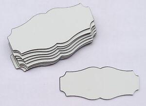 Möbel & Wohnen WunderschöNen 10 Stk Kunststoff-formschilder-103 X 43 Mm-posten-türschild-gravur-gravurschild