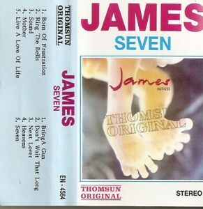 James-Seven-Import-Cassette-Tape