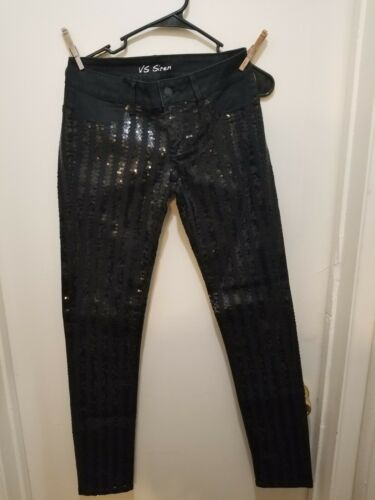 4 Sequin Maat Victoria Siren Secret Vs Zwart Jeans Skinny Damessweater Stripe Aq6Bv
