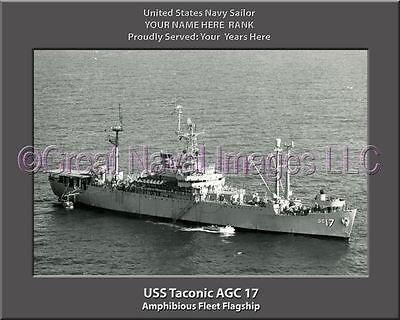 USS Iowa BB 61 Personalized Canvas Ship Photo Print Navy Veteran Gift