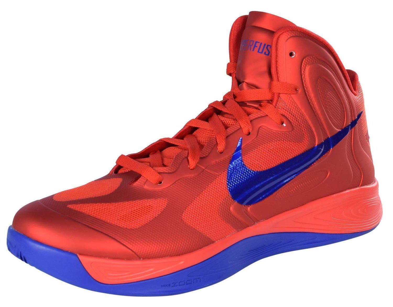 Nike Hombres Universidad Hyperfuse zapatos de baloncesto de la Universidad Hombres Rojo Juego Royal 3f07de