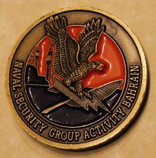 Naval Security Group Activity Bahrain NAVSECGRU Navy Challenge Coin